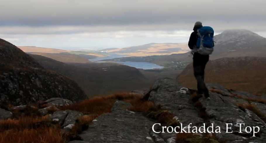 MountainViews.ie Picture about mountain Crockfadda E Top in area Donegal NW, Ireland