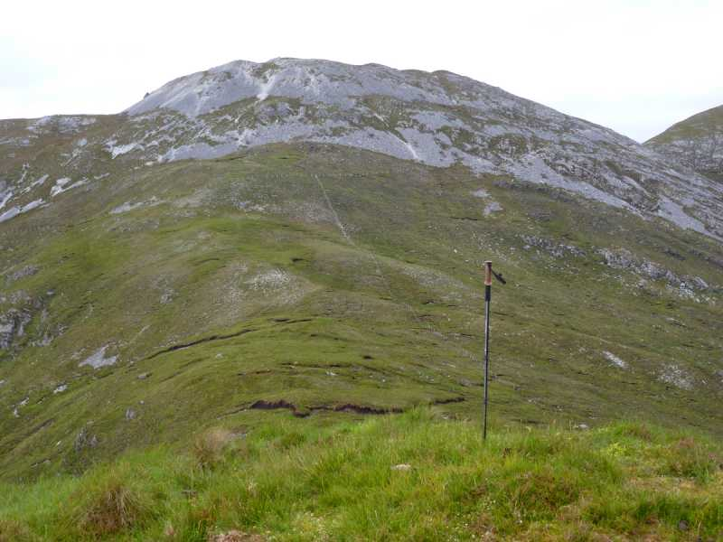 MountainViews.ie Picture about mountain Binn Bhreac in area Twelve Bens, Ireland