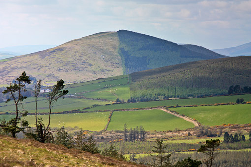 MountainViews.ie Picture about mountain Annagh Hill in area Dublin/Wicklow, Ireland