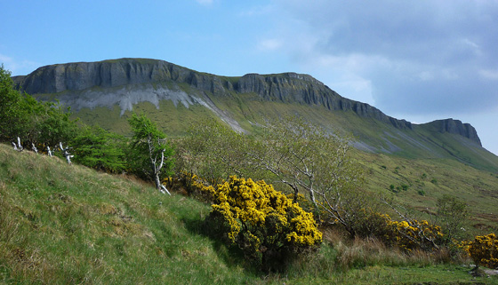 MountainViews.ie Picture about mountain Keeloges  in area Dartry Mountains, Ireland