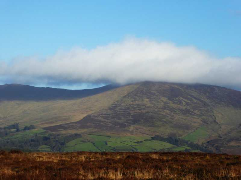 MountainViews.ie Picture about mountain Milk Hill (<i>Cnoc an Bhainne</i>) in area Comeragh Mountains, Ireland