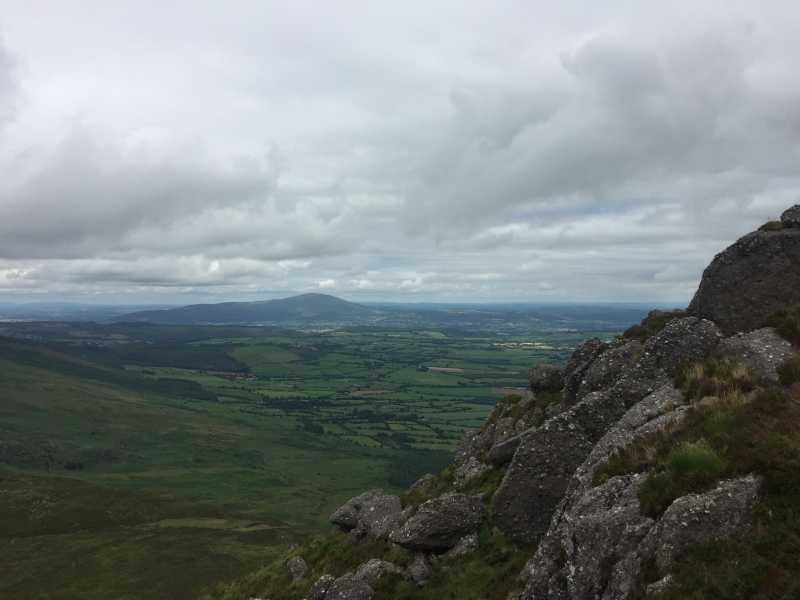 MountainViews.ie Picture about mountain Carrignagower (<i>Carraig na nGabhar</i>) in area Comeragh Mountains, Ireland