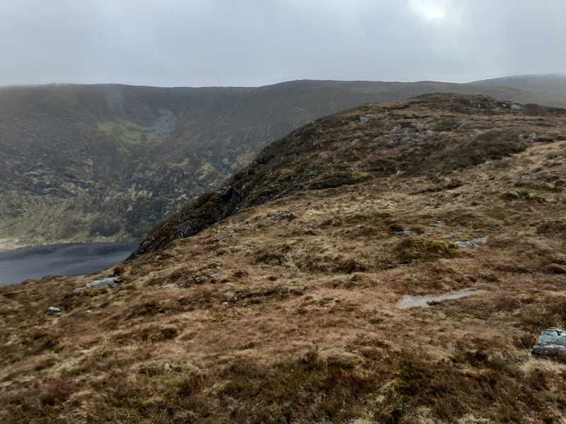 MountainViews.ie Picture about mountain Coomclogherane Top (<i>Cnoc Chom Clocharáin</i>) in area West Cork Mountains, Ireland