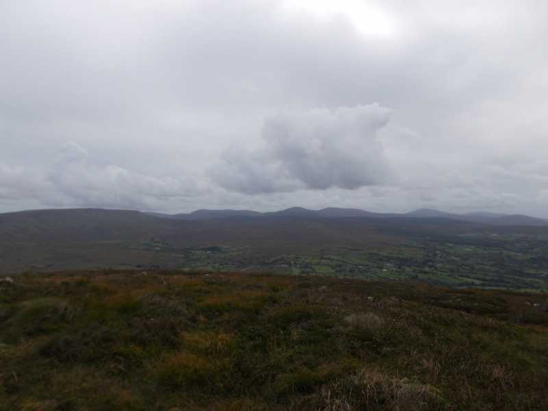 MountainViews.ie Picture about mountain Carn Hill in area Sperrin Mountains, Ireland