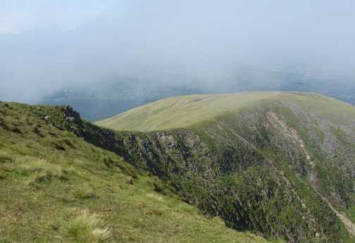 MountainViews.ie Picture about mountain Slieve Commedagh in area Mourne Mountains, Ireland