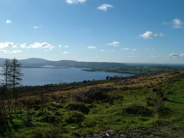 MountainViews.ie Picture about mountain Lugnagun in area Dublin/Wicklow, Ireland