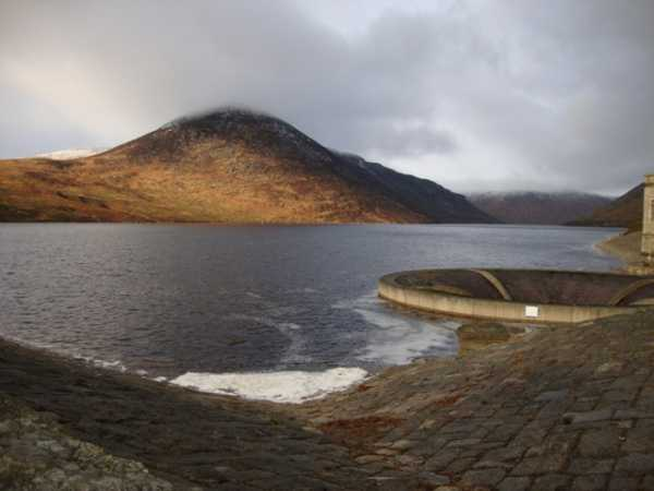 MountainViews.ie Picture about mountain Slievenaglogh in area Mourne Mountains, Ireland