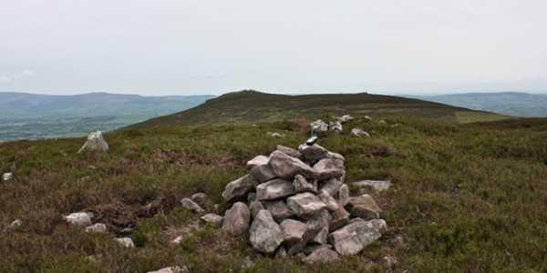 MountainViews.ie Picture about mountain Seefin N Top in area Galty Mountains, Ireland