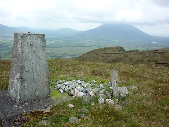 MountainViews.ie Picture about mountain Croaghmoyle in area North Mayo, County Mayo, Ireland