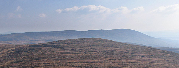 MountainViews.ie Picture about mountain Carran South Top in area Shehy/Knockboy, County Kerry, Ireland