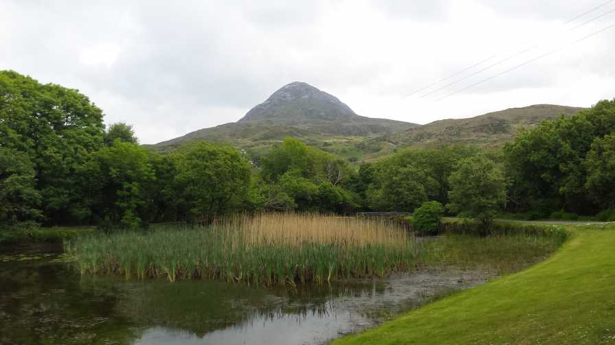 MountainViews.ie Picture about mountain Diamond Hill (<i>Binn Ghuaire</i>) in area Twelve Bens, Ireland