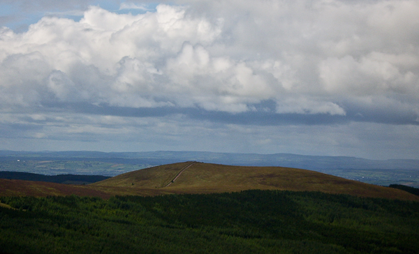 MountainViews.ie Picture about mountain Carron Mountain in area Ballyhoura Mountains, Ireland