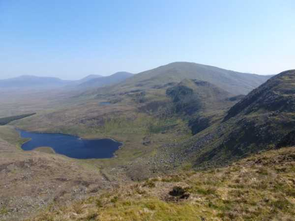 MountainViews.ie Picture about mountain Maumthomas NE Top in area North Mayo, Ireland