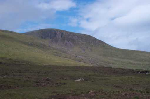 MountainViews.ie Picture about mountain Masatiompan in area Brandon Group, Ireland