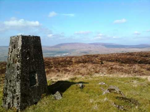 MountainViews.ie Picture about mountain Carncormick in area Antrim Hills, Ireland