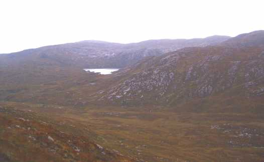 MountainViews.ie Picture about mountain Croaghanirwore in area Bluestack Mountains, County Donegal, Ireland