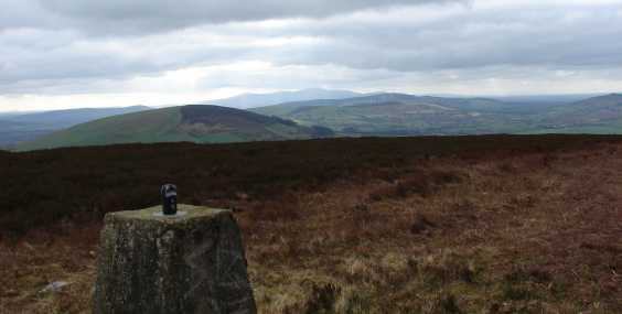 MountainViews.ie Picture about mountain Ballycumber Hill in area Dublin/Wicklow, Ireland