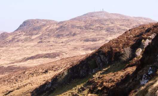 MountainViews.ie Picture about mountain Cruach Eoghanach in area S Donegal/W Tyrone, County Donegal, Ireland