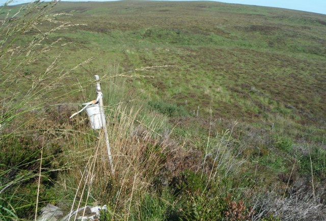 MountainViews.ie Picture about mountain Farbreague in area Slieve Bloom, Ireland