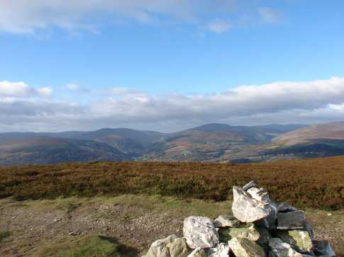 MountainViews.ie Picture about mountain Trooperstown Hill in area Dublin/Wicklow, Ireland
