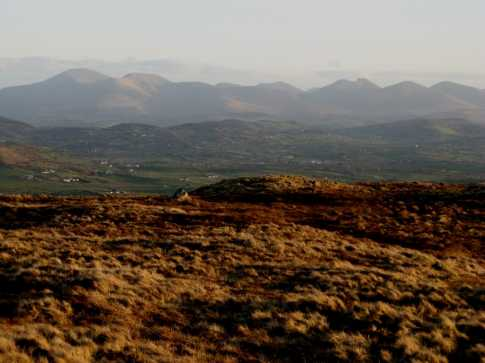 MountainViews.ie Picture about mountain Cratlieve in area Mourne Mountains, Ireland