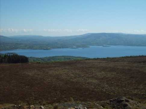 MountainViews.ie Picture about mountain Seltannasaggart in area Arigna Mountains, Ireland