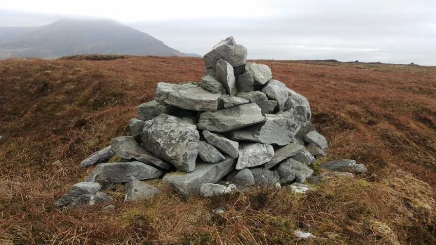 MountainViews.ie Picture about mountain Leahan (<i>Liathán</i>) in area Donegal SW, Ireland