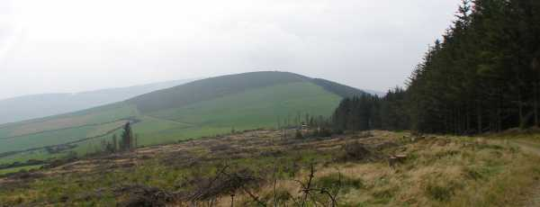 MountainViews.ie Picture about mountain Moneyteige North in area Dublin/Wicklow, Ireland