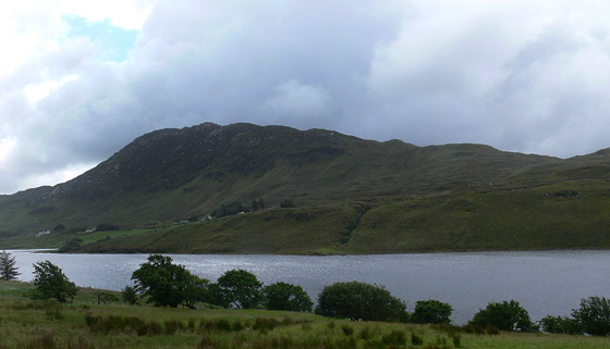 MountainViews.ie Picture about mountain Scraigs in area Bluestack Mountains, Ireland
