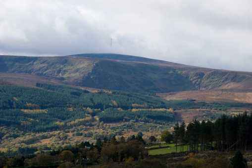 MountainViews.ie Picture about mountain Kippure in area Dublin/Wicklow, Ireland