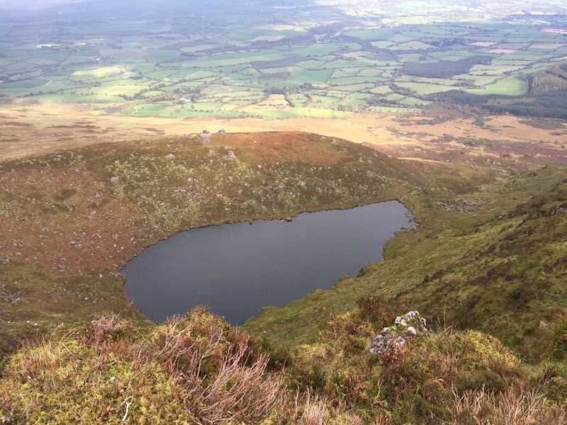 MountainViews.ie Picture about mountain Knockanaffrin in area Comeragh Mountains, Ireland