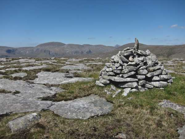 MountainViews.ie Picture about mountain Cnoc an Stualaire in area Donegal NW, Ireland