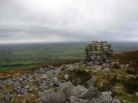MountainViews.ie Picture about mountain Slievecorragh in area Dublin/Wicklow, Ireland