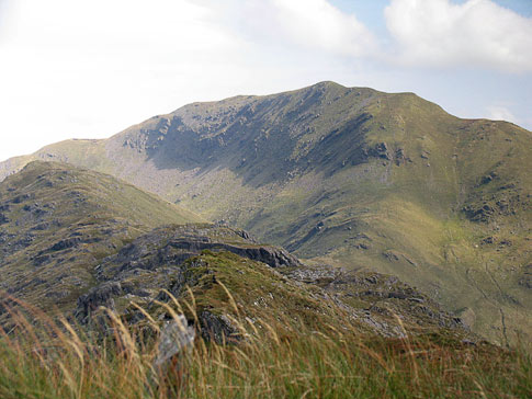 MountainViews.ie Picture about mountain Beann in area Dunkerron Mountains, Ireland