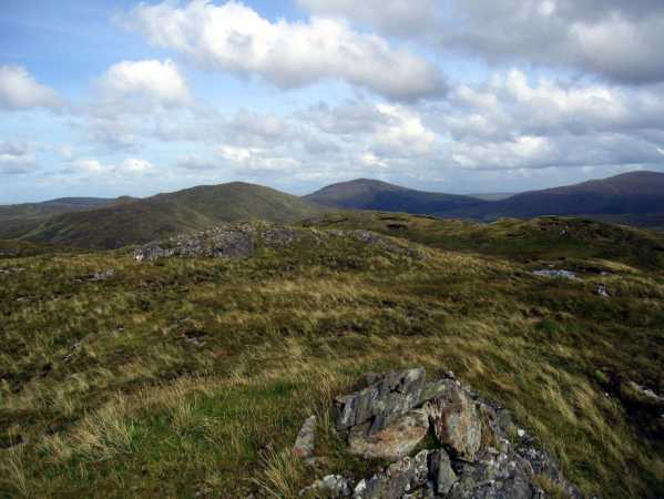 MountainViews.ie Picture about mountain Cruach Thiobraide in area Bluestack Mountains, Ireland