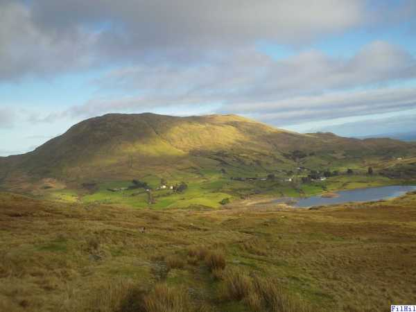 MountainViews.ie Picture about mountain Binn Shleibhe in area Partry/Joyce Country, Ireland