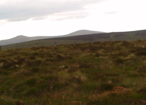 MountainViews.ie Picture about mountain Mullaghturk in area Sperrin Mountains, Ireland