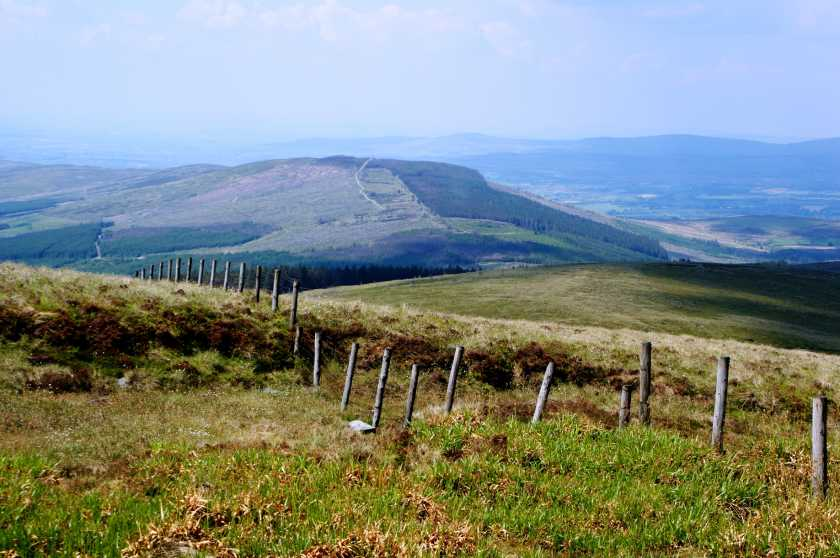 MountainViews.ie Picture about mountain Curraghchosaly Mountain in area Sperrin Mountains, Ireland