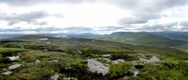 MountainViews.ie Picture about mountain Benbo in area Dartry Mountains, Ireland