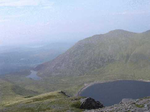 MountainViews.ie Picture about mountain Cnoc Íochtair in area MacGillycuddy