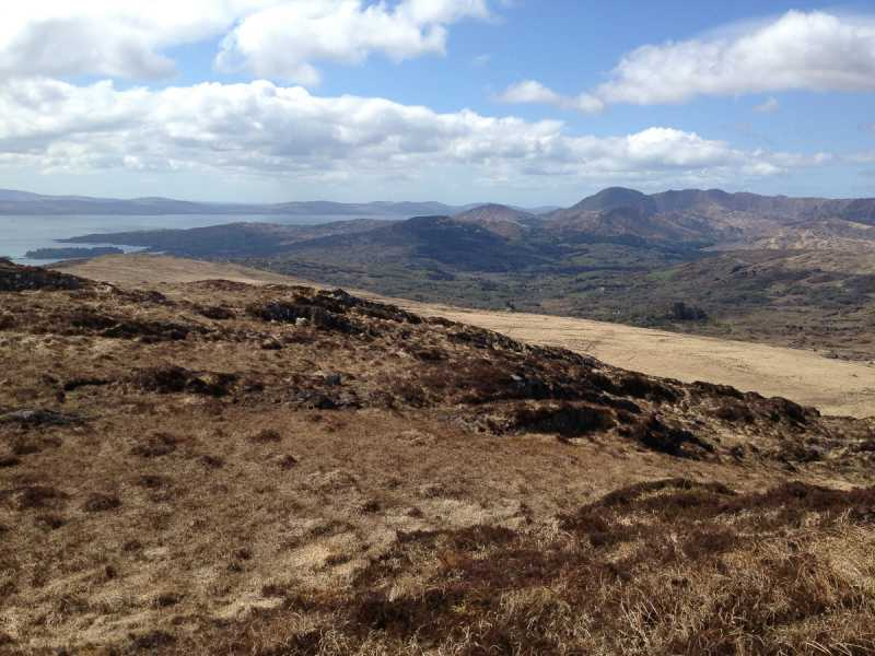 MountainViews.ie Picture about mountain Barraboy Mountain SE Top in area Shehy/Knockboy, Ireland