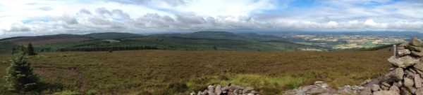 MountainViews.ie Picture about mountain Knocknaskagh N Top in area Nagles Mountains, Ireland