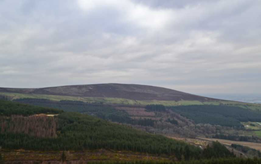 MountainViews.ie Picture about mountain Long Hill in area Comeragh Mountains, Ireland