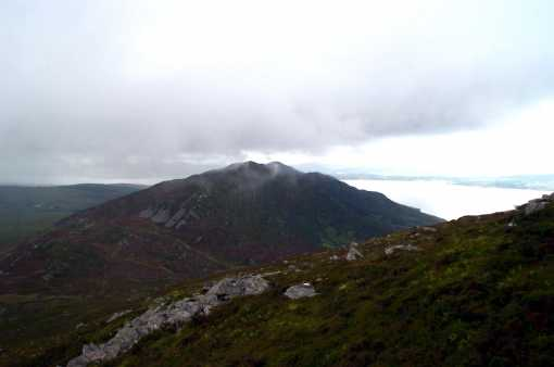 MountainViews.ie Picture about mountain Mamore Hill in area Inishowen, County Donegal, Ireland
