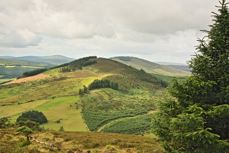 MountainViews.ie Picture about mountain Ballincurra Hill (<i>Cnoc Bhaile an Charraigh</i>) in area Shannon, Ireland