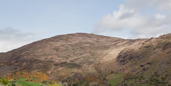 MountainViews.ie Picture about mountain Barraduff Mountain in area Caha Mountains, Ireland