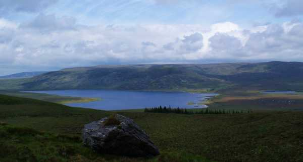 MountainViews.ie Picture about mountain Sruffaungarve Top in area Ox Mountains, Ireland