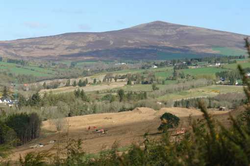 MountainViews.ie Picture about mountain Cushbawn in area Dublin/Wicklow, Ireland