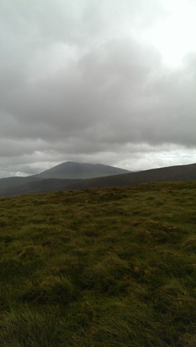 MountainViews.ie Picture about mountain Bullaunmore (<i>An Bullán Mór</i>) in area North Mayo, Ireland