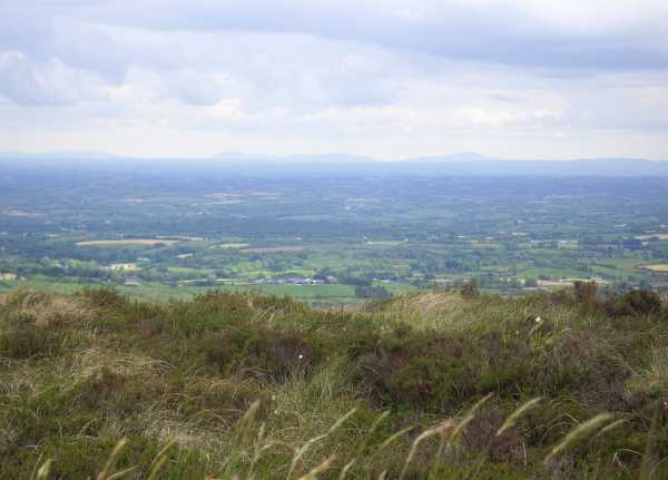 MountainViews.ie Picture about mountain Oughtmore in area Sperrin Mountains, Ireland